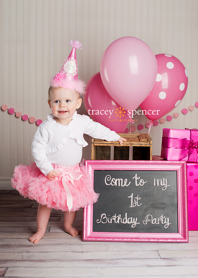 Birthday Decoration For 1 Year Old Baby Girl Image Inspiration of