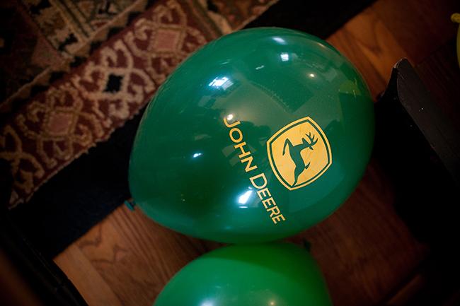 John Deere birthday balloons