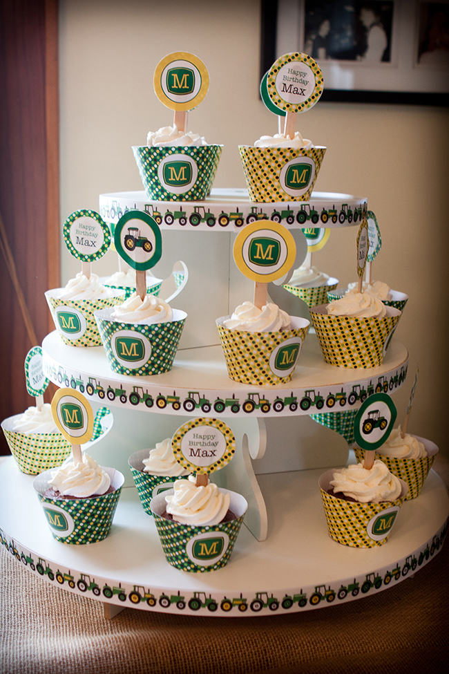 John Deere birthday party - printables from Chickabug