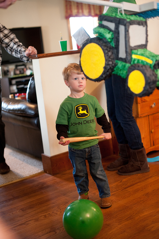 John Deere party pinata