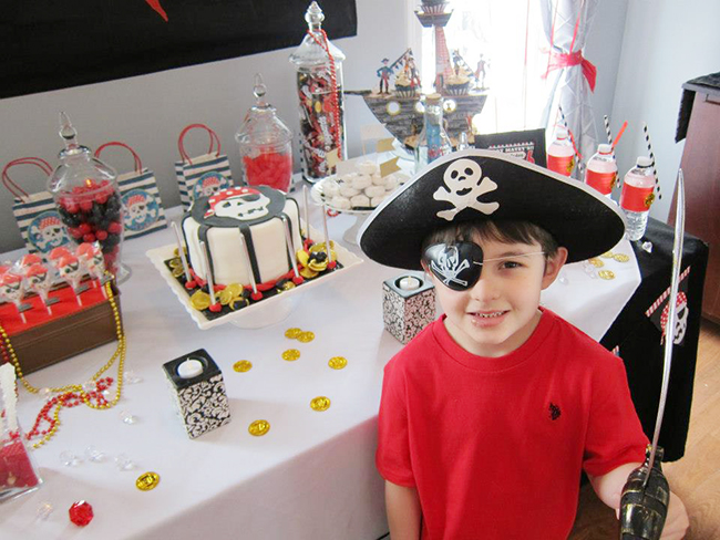 Pirate theme birthday party