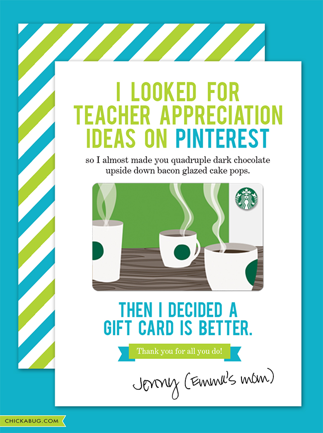 Free Teacher Appreciation Cards on End Of Year Ideas Plus Free Poems And