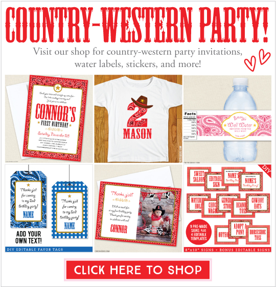 The Ultimate Guide to Country Western or Farm Party Food!