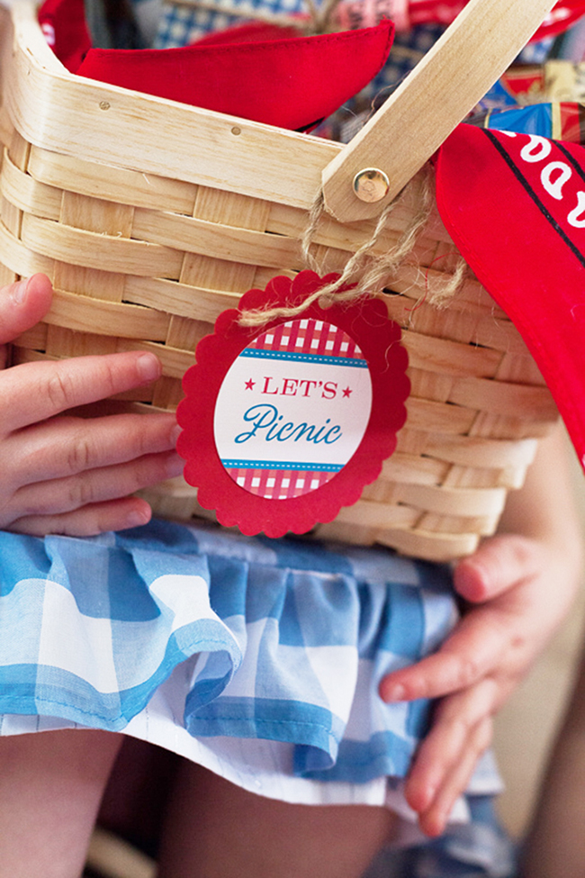 "Vintage picnic and ""pie bake-off"" - a unique way to celebrate the 4th of July!"