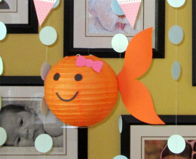 DIY goldfish lantern - so cute!