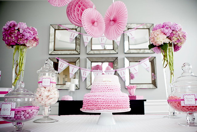 Gorgeous PRETTY IN PINK first birthday party!