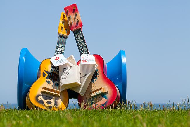 Rock star theme birthday party!