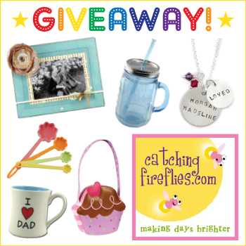 Giveaway! $43 in quirky gifts & goodies from Catching Fireflies! #giveaway #freebies