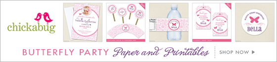 Chickabug bowling theme party paper goods & printables