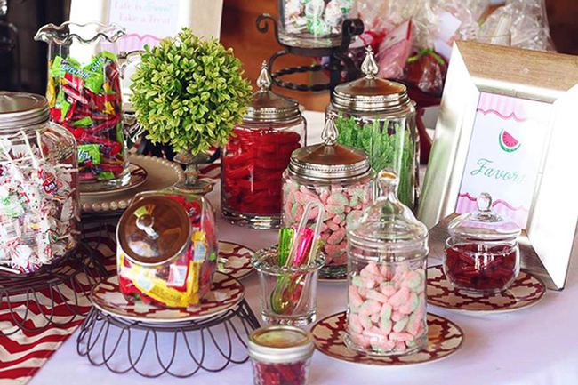 Watermelon theme birthday party food ideas