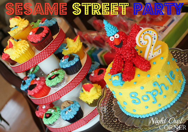 Sesame Street birthday party with lots of ideas for decor and games!
