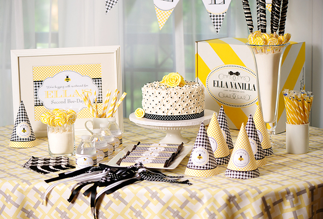 Bee Autiful Bumblebee Party Table