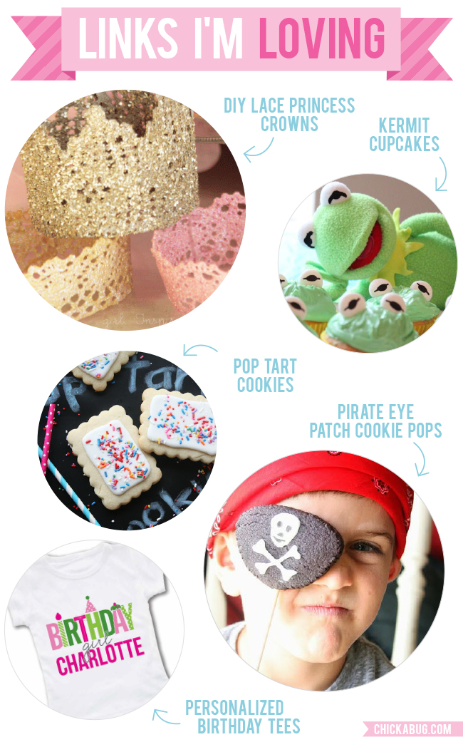 Links I'm Loving: Princess crowns, Kermit cupcakes, and more!