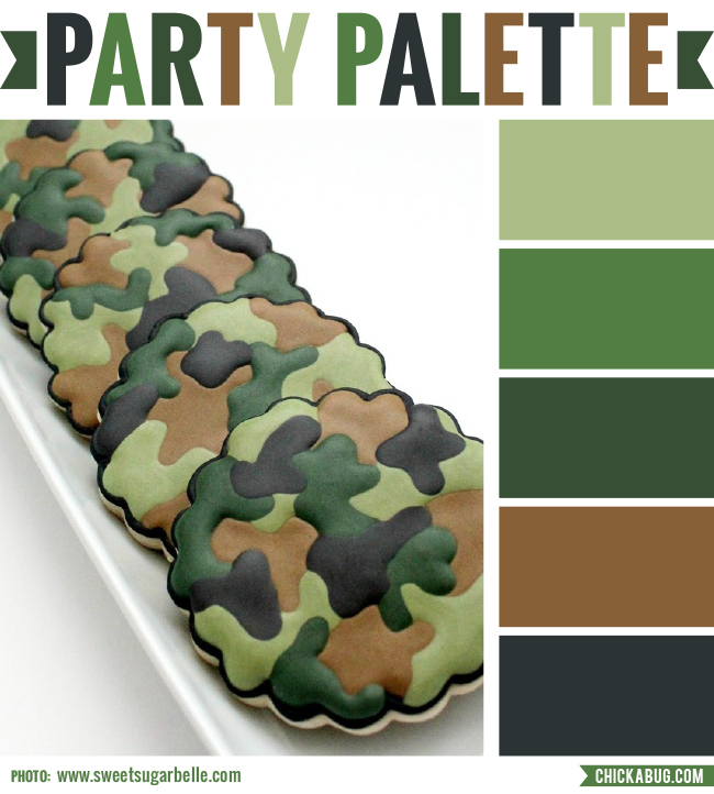 Party Palette Camo Chickabug