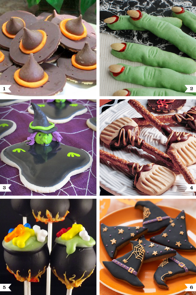Witch themed dessert recipes chickabug for Halloween desserts recipes with pictures