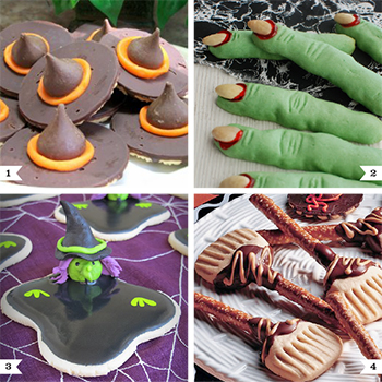 Witch themed dessert recipes