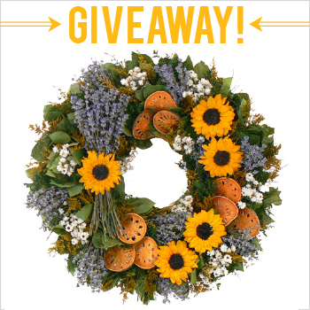 Win a $75 gift card to The Wreath Depot (www.thewreathdepot.com). Enter to win by 10.14.13 at www.chickabug.com