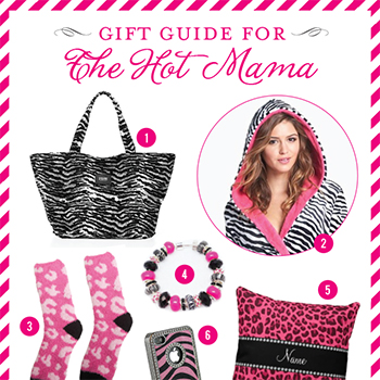 Gift Guide for the Hot Mama! Wild and sassy gifts in leopard and zebra print