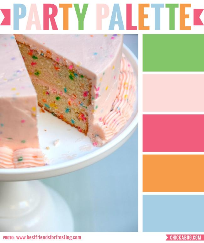 Party Palette Confetti Cake Chickabug