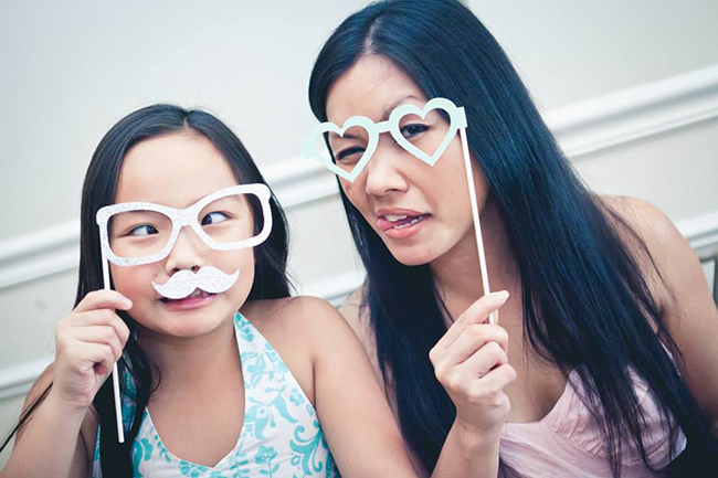 Winter One-derland Birthday Party photo booth props