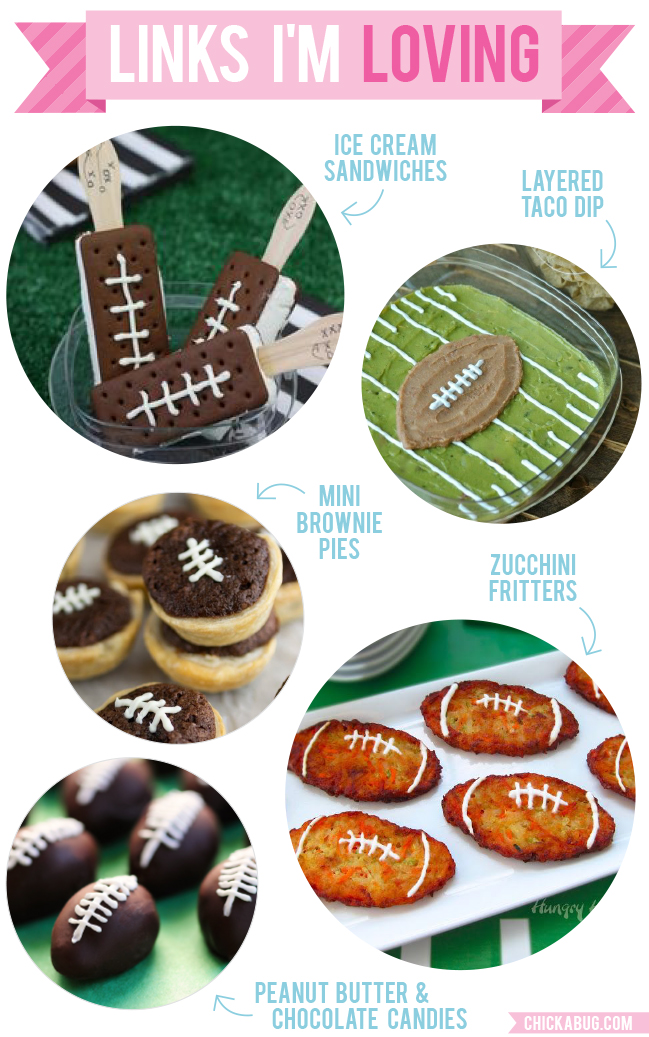 Links I'm Loving: Are you ready for some football?! #superbowl