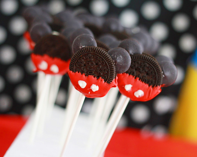 Mickey Mouse Oreo Pops The Other Party Food