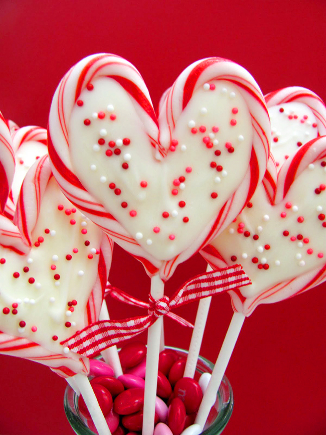 Valentine s day heart peppermint candy pops chickabug