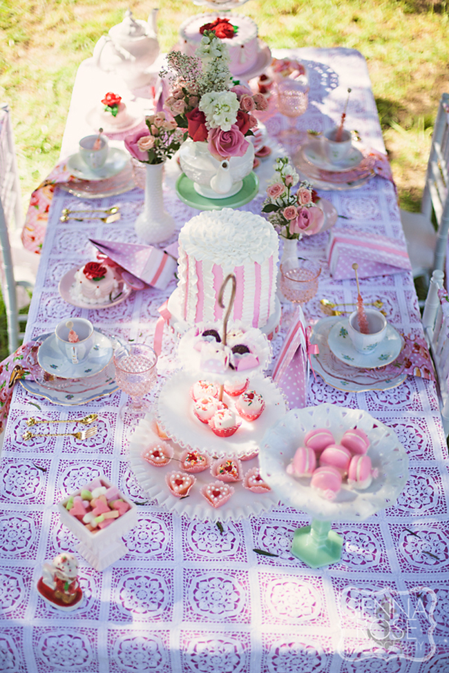 Vintage Tea Party for a little girlu0027s