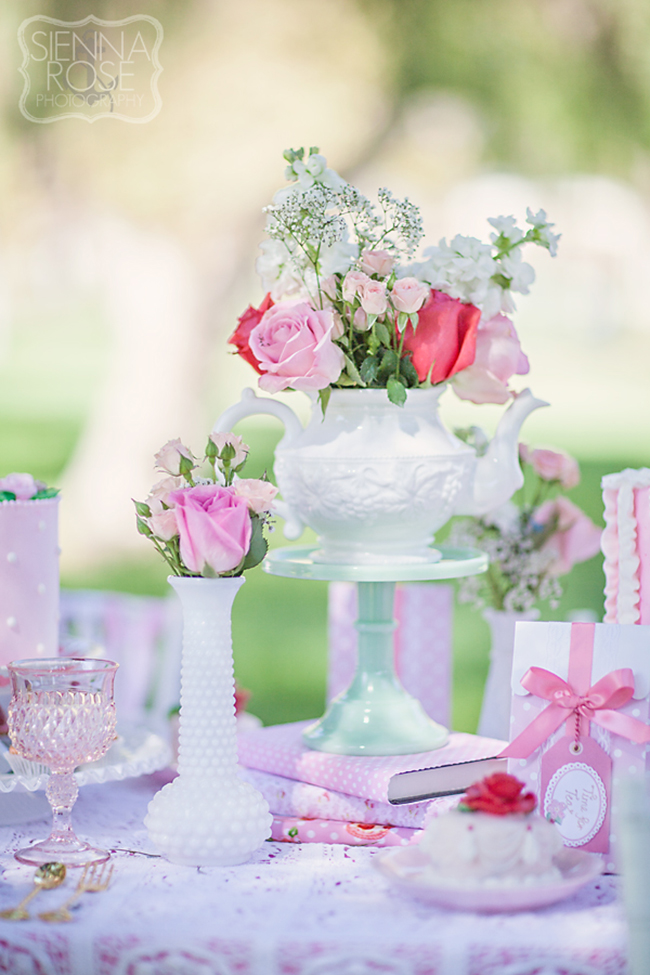 Vintage Tea Party for a little girl's birthday