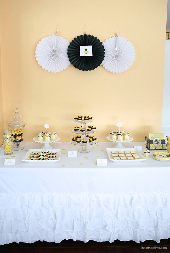 What Will It BEE Baby Shower With Free Printables