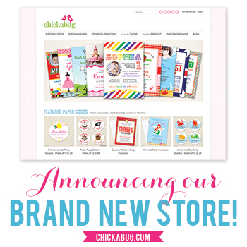 Announcing our brand new online store! www.chickabug.com : )