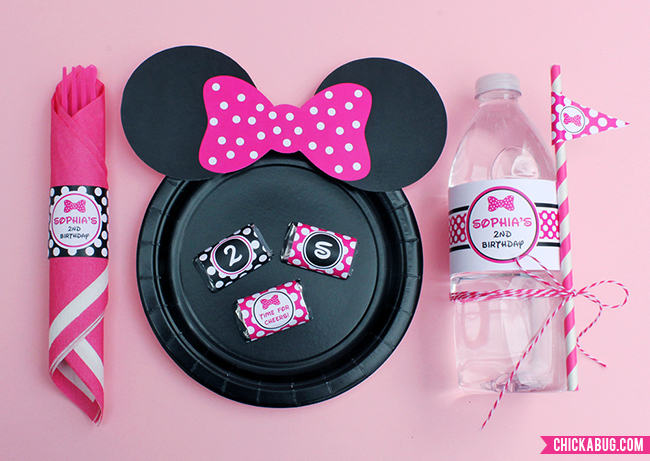 Minnie mouse ears printable