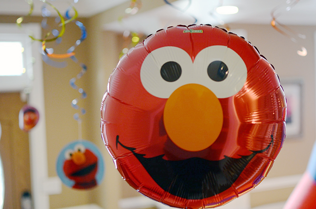 Sesame Street 2nd birthday party