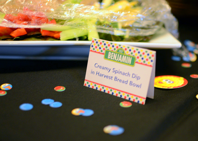Sesame Street 2nd birthday party - printables from Chickabug