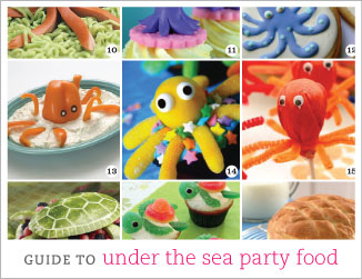 The ultimate guide to under the sea party food
