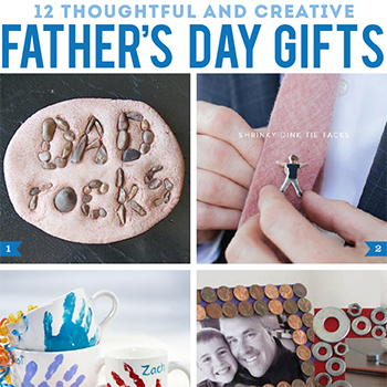 12 awesome Father's Day gifts12 awesome Father's Day gifts! Thoughtful and creative DIY projects that Dads will love : )