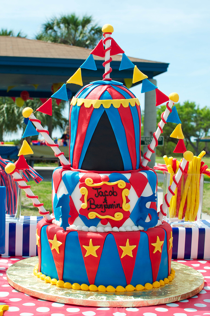 Carnival party: Benjamin is 5 and Jacob is 1! | Chickabug