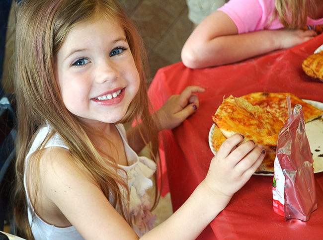 Fun pizza theme birthday party!
