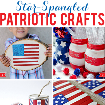 Star-spangled patriotic crafts