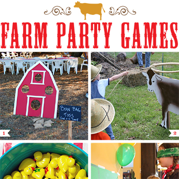 Farm theme party games