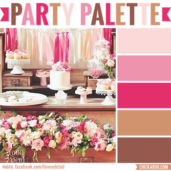 Party Palette: All Things Pretty at the Confetti Fair