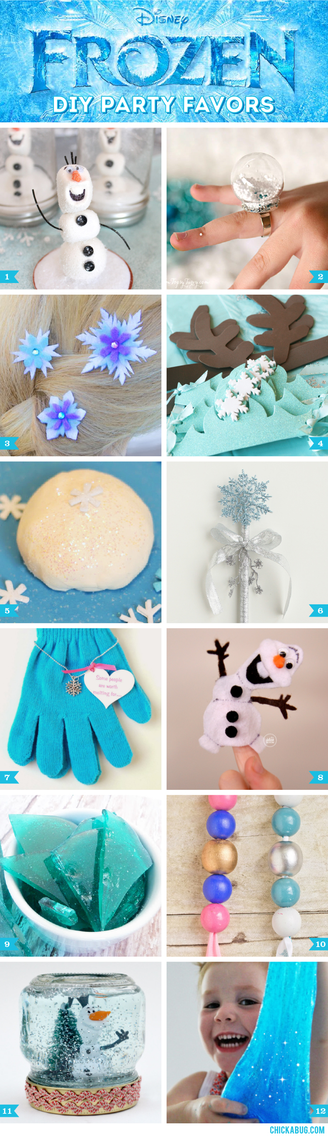 Diy Frozen Party Favors Bing Images