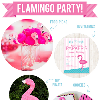 Flamingo party ideas!