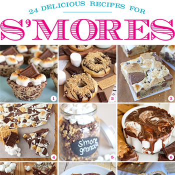 21 amazing s'mores recipes!