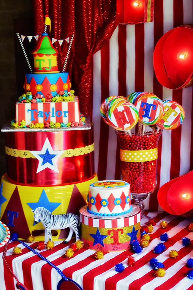 Amazing circus theme birthday party! & Amazing circus birthday party!