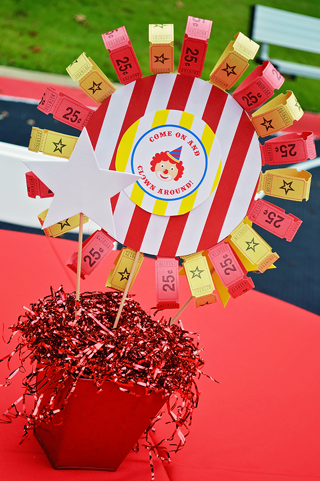 Circus Theme Decoration Ideas Part - 24: Amazing Circus Theme Birthday Party!