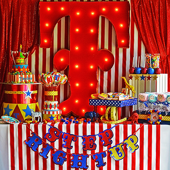 Amazing circus theme party!