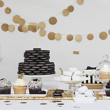 Golden Oreo party : )