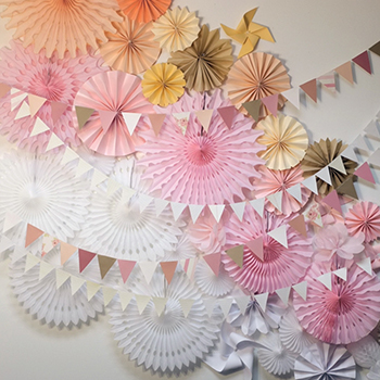 Mixed paper backdrop by Alana Jones Mann