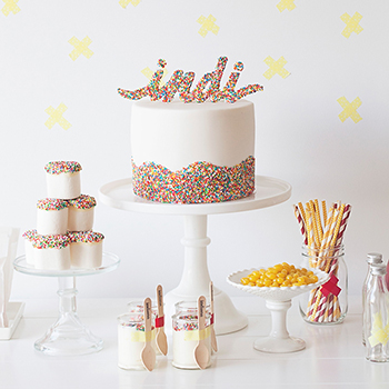 Sprinkle party by Sweet Style {www.sweetstyle.com.au}